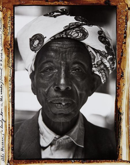Peter Beard-Ali Hassan (A Lonely Horn In The Woods) Servant To Karan Blixen, Nairobi Kenya For The End Of The Game-1962