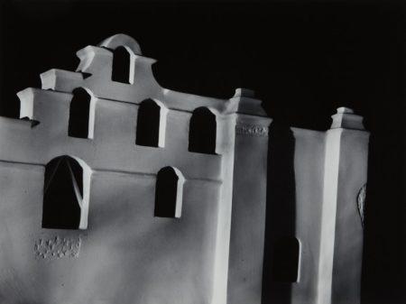 James Casebere-Mission Façade-1988