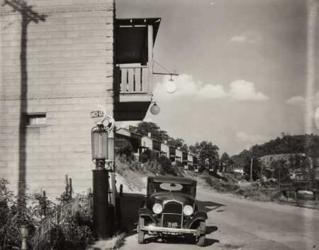 Company Houses And Filling Station On Scotts Run, Vicinity Of Morgantown, West Virginia-1935