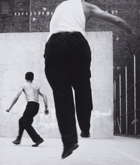 Handball Players, Houston Street, New York-1970