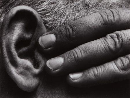 Brett Weston-Untitled (Hand And Ear Of Ramiel Mcgehee)-1929