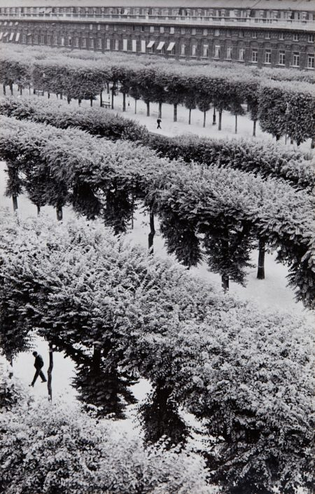 Gardens Of The Palais Royal, Paris, France-1961