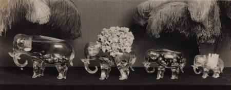 Four Glass Elephants-1924