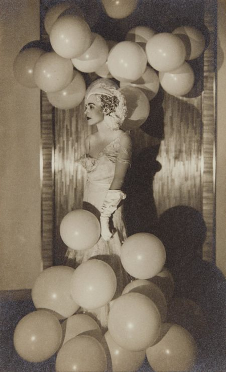 Man Ray-Countess Celani At The Bal Blanc-1930