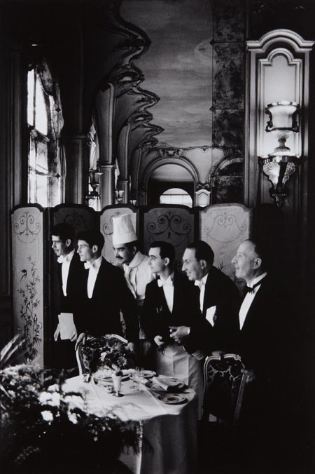 Elliott Erwitt-Waiters And Chef, Hôtel Ritz, Paris, France-1969