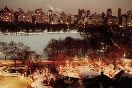 Holiday Lights At Tavern-On-The Green, Central Park And 5Th Ave.-1976