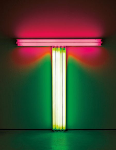 Dan Flavin-Untitled (To Don Judd Colorist) 5-1987