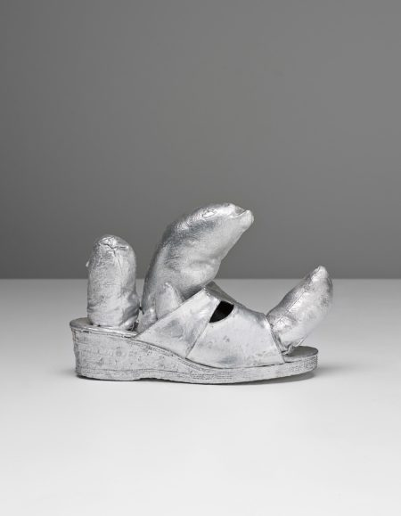 Yayoi Kusama-Silver Shoe-1976