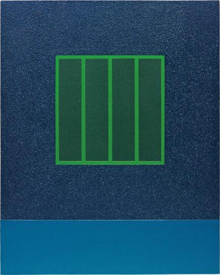 Peter Halley-Blue Prison-2002