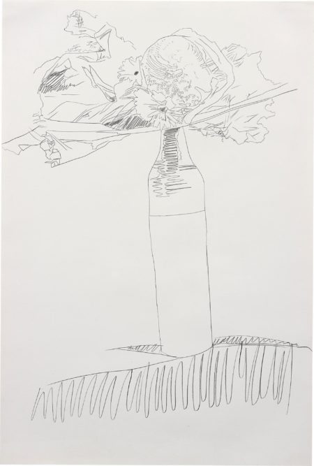 Andy Warhol-Flower Drawing-1974