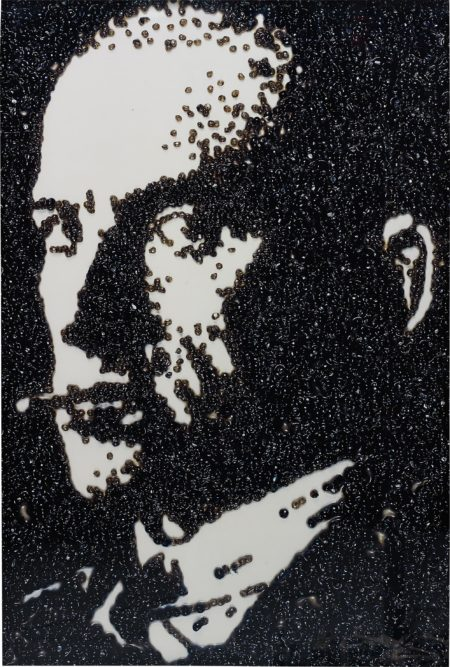 Vik Muniz-Maiakowskij, After Rodchenko (Pictures Of Caviar)-2004