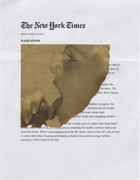 Dash Snow-The New York Times-2007