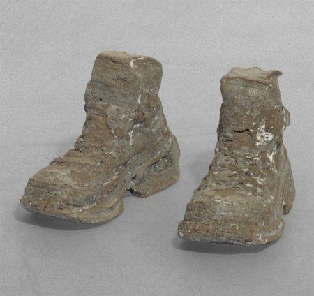 Sarah Lucas-Concrete Boots 1998-1999