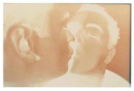 Douglas Gordon-Self-portrait (Kissing with Scopolamine)-1994