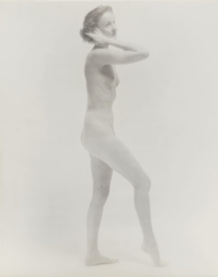 Erwin Blumenfeld-Standing Nude-1958