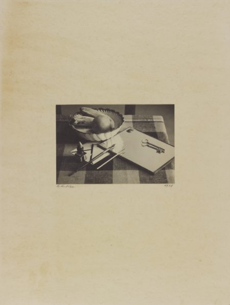 Andre Kertesz-Nature Morte (II)-1927