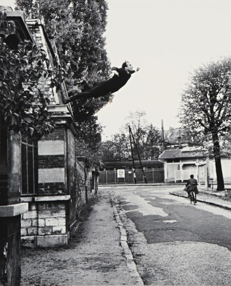 Shunk-Kender-Yves Klein-Leap Into The Void (5 Rue Gentil-Bernard Fontenay-Aux-Roses October 1960) (Artistic Action By Yves Klein - Collaboration Harry Shunk And Janos Kender)-1960
