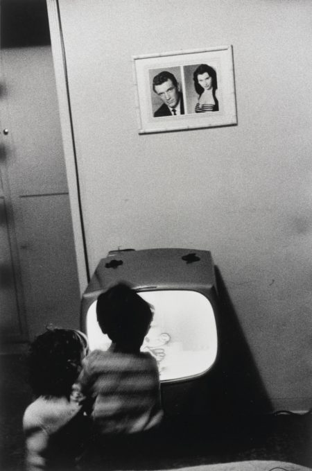 Robert Frank-Andrea And Pablo (Watching Television)-1956