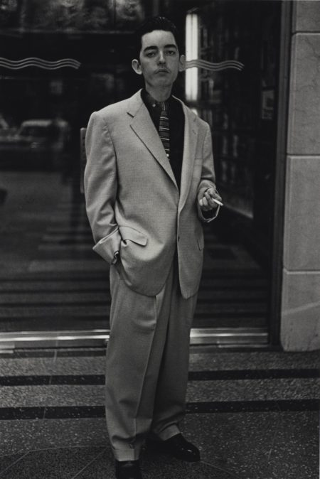 Diane Arbus-Young Man In A Baggy Suit N. Y. C.-1961