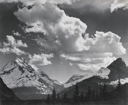 Ansel Adams-Noon Clouds Glacier National Park Montana-1942