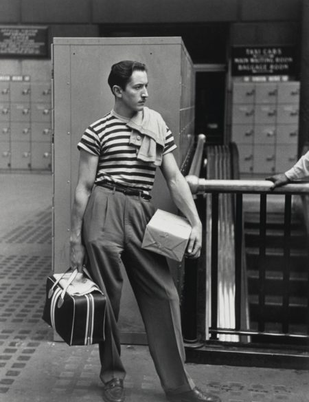 Ruth Orkin-David Waiting At The Old Penn Station-1948