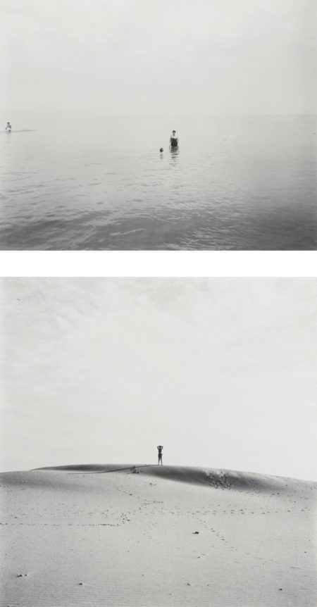 Harry Callahan-Selected Photographs Of Eleanor (comprising 'Eleanor' and 'Eleanor and Barbara, Lake Michigan')-1953