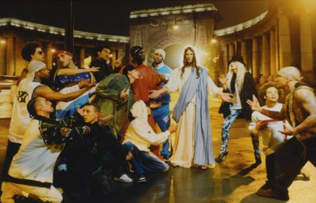 David LaChapelle-Sermon' (From Jesus Is My Homeboy)-2003