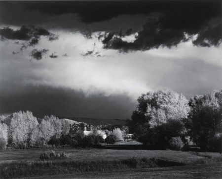 Autumn Storm Near Las Trampas New Mexico-1958