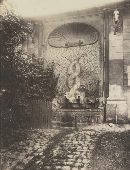 Eugene Atget-Issy - Ancien Chateau-1901