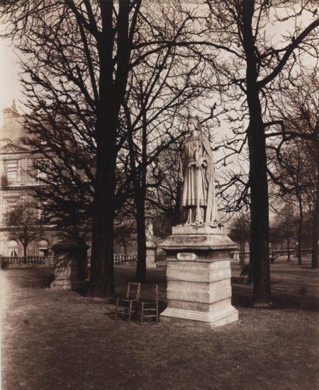 Eugene Atget-Luxembourg. Mathilde De Flandres-1902