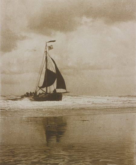 Alfred Stieglitz-The Incoming Boat (Greenough 229)-1894