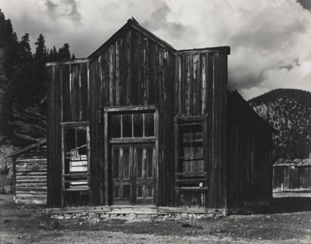 Paul Strand-Ghost Town Red River New Mexico-1933