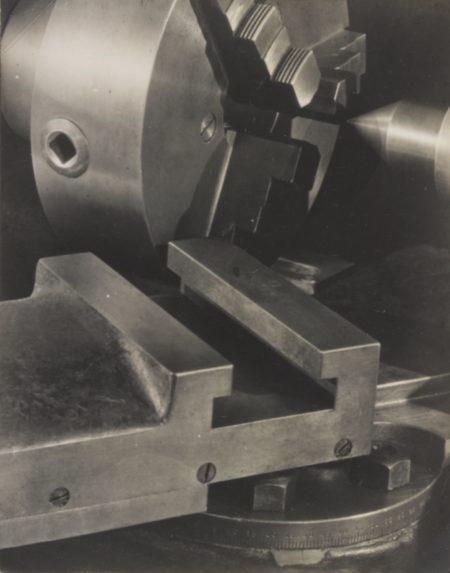 Paul Strand-Lathe Akeley Shop New York-1923