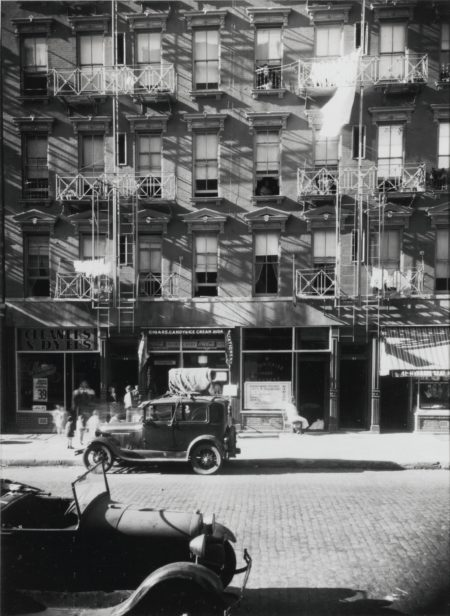 Walker Evans-41-43 Carmine Street New York City-1934