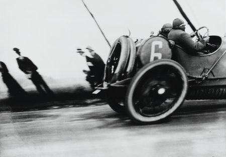 Jacques Henri Lartigue-Grand Prix De L'A. C. F. Automobile Delage-1912
