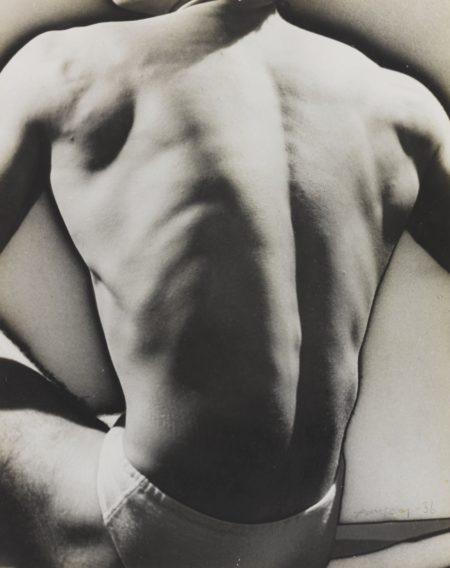Man Ray-Solarized Male Torso-1930