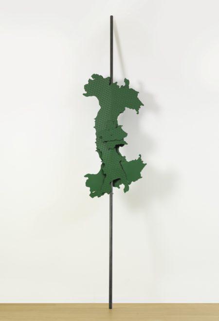 Luciano Fabro-Italia All'Asta Verde-1994