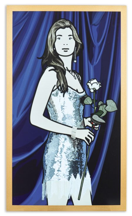 Julian Opie-Maria Teresa With Sequined Dress-2008