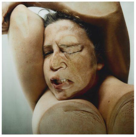 Jenny Saville-Glen Luchford-Closed Contact #8-1996
