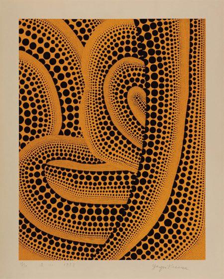 Yayoi Kusama-Wave - (I)-1998