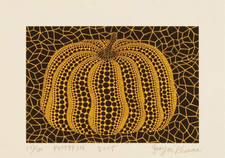 Yayoi Kusama-Small Pumpkin-2005
