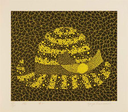 Yayoi Kusama-Hat-1983