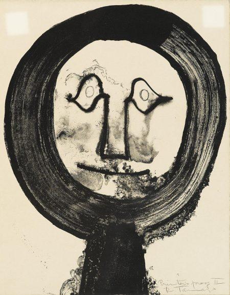 Rufino Tamayo-Moon Face (P. 87)-1964
