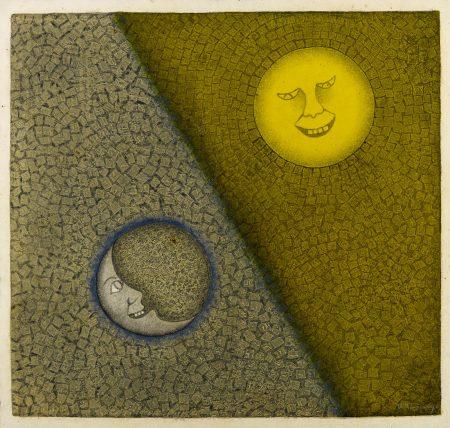 Rufino Tamayo-Luna y sol (P. 338)-1990