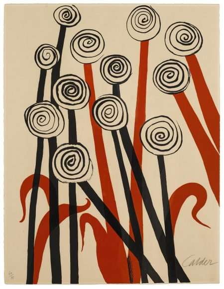 Alexander Calder-Untitled, from Magie Eolienne Portfolio, 1972-1972
