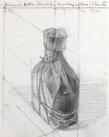 Wrapped Bottle, Project, from Homage à Domberger Portfolio (S. & K. 184)-2002