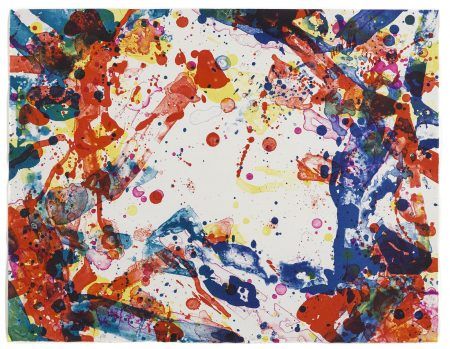 Sam Francis-Paper Weight (L. L118; SF-109)-1971