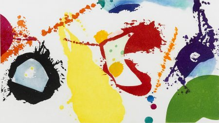 Sam Francis-Untitled (SFE-103)-1995