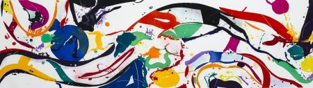 Sam Francis-Untitled (L. I.96; SFE-067)-1988