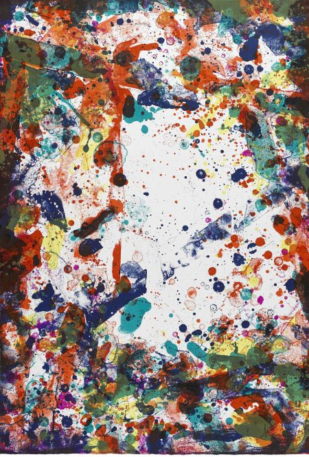Sam Francis-Vegetable III, from the Vegetable Series (L. L123; SF0112B)-1971